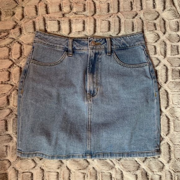 Brandy Melville Dresses & Skirts - Melville might wash jean skirt
